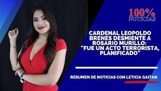 ????Resumen de Noticias | Daniel Ortega en silencio sobre ataque a iglesia católica y nicas varados