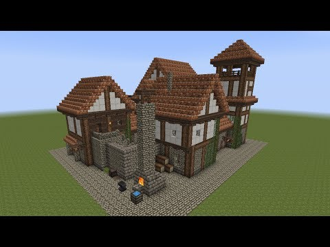 Download youtube to mp3 minecraft mittelalter rathaus for Kleines minecraft haus