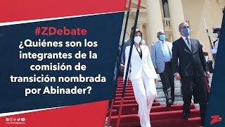 #ZDebate: ¿Quiénes son los integrantes de la comisión de transición nombrada por Abinader
