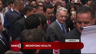 Micrófono fue encontrado en oficina de magistrado que recibe declaraciones del caso Uribe