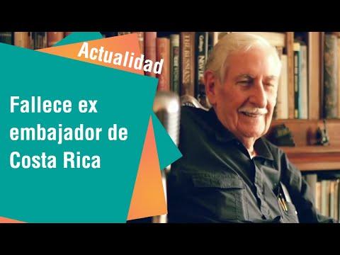Homenaje a ex embajador Álvaro Fernández | Actualidad