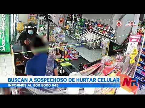 Buscan a sospechoso de robo en tienda
