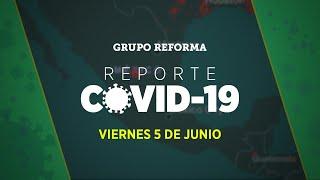 Rebasa México 110 mil casos confirmados de Covid-19