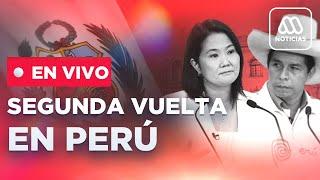 Resultados elecciones Perú: adherente de Pedro Castillo en Lima