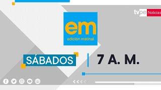 TVPerú Noticias Edición  Matinal - 26/09/2020