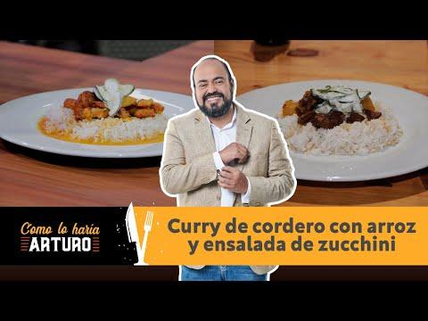 COMO LO HARÍA ARTURO  CURRY DE CORDERO CON  ARROZ