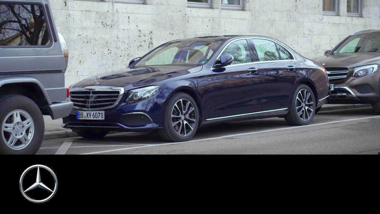 The Remote Parking Pilot in the new E-Class - Mercedes-Benz original