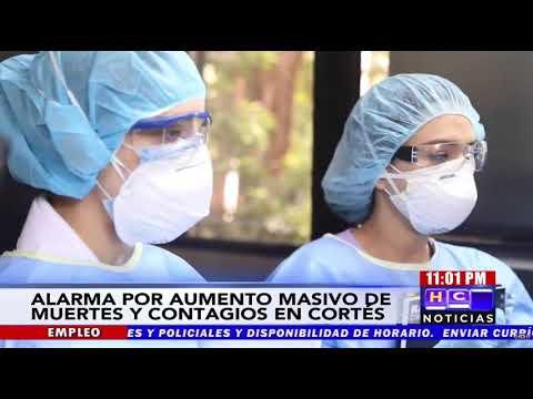 Alarmante el número de hondureños que están falleciendo producto de Covid19 en Cortés