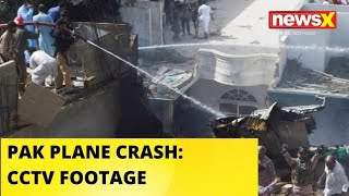 CCTV FOOTAGE OF PAK PLANE CRASH - NEWSXLIVE