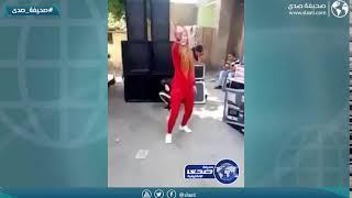 مصرية تستعرض مهارتها بالسيف امام المارة .. انتبهي من الغلط