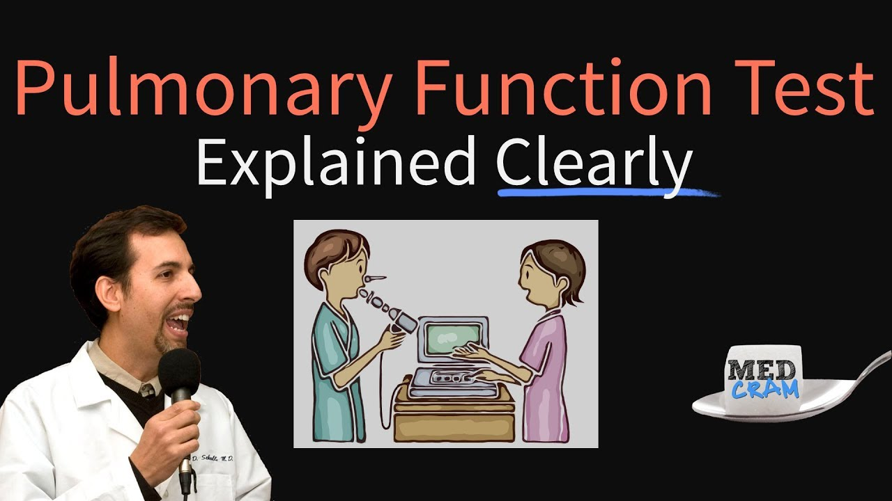 Pulmonary Function Test (PFT) Explained Clearly by MedCram.com