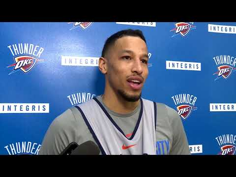 connectYoutube - Andre Roberson Before The Game Against Cavaliers / Thunder vs Cavs