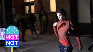 Kendall Jenner Heads Out To Bella Hadid's 22nd Birthday #throwback