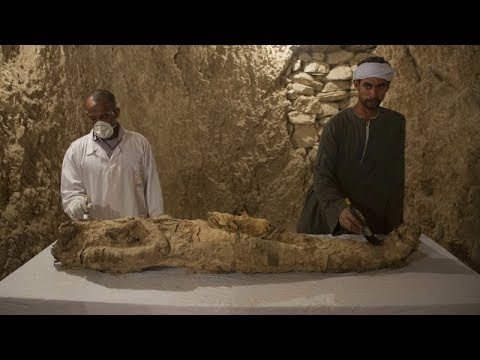 Egypt announces discovery of 3,500-year-old tombs.
