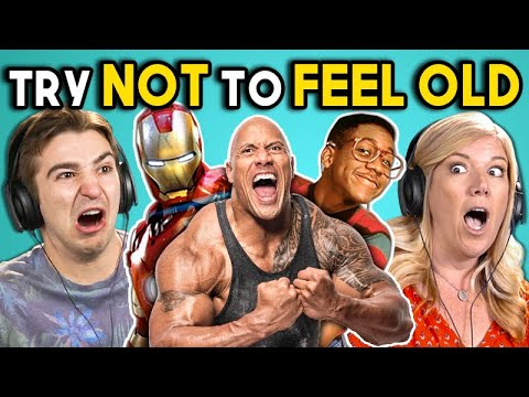 connectYoutube - ADULTS REACT TO TRY NOT TO FEEL OLD CHALLENGE #4
