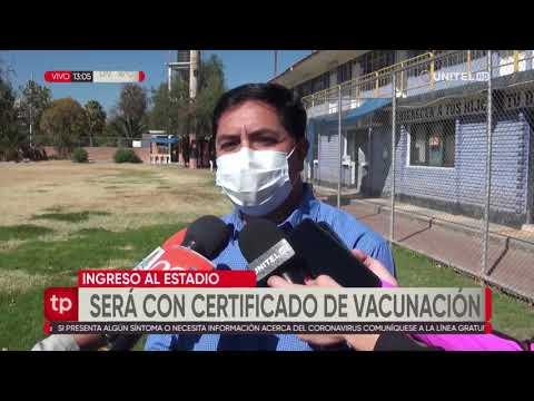 Autorizan 50% de aforo en el Félix Capriles con la presentación de su certificado de vacunación