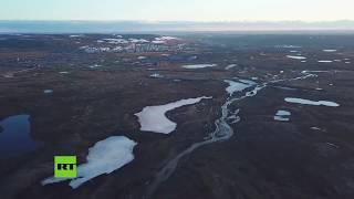 Declaran el estado de emergencia tras un derrame de combustible en una central térmica en Rusia