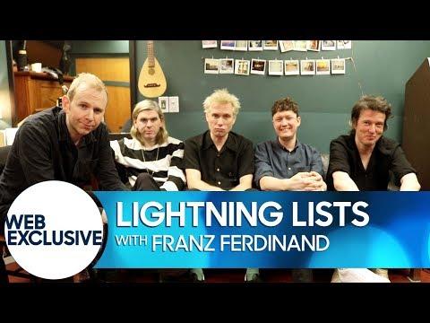 connectYoutube - Lightning Lists: Franz Ferdinand