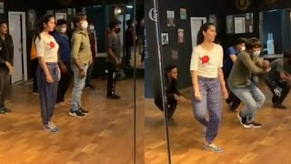 Sudigali Sudheer backslashu0026 Vishnu Priya Dance Practice Video | TFPC - TFPC
