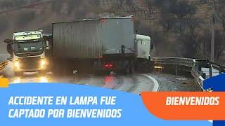 Impactante accidente en Lampa fue captado por Bienvenidos   Bienvenidos