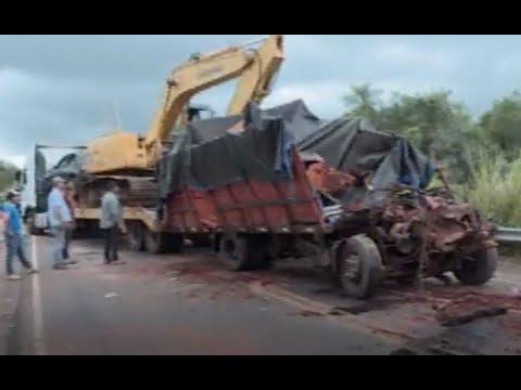 Trágico desplome de puente en Paraguay