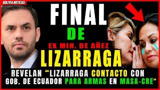 ¡HUND3N EX MIN. DEL GOL-PE LIZARRAGA! CONTACTO ECUADOR PARA TRAER AR-M4S USA-DAS N MASA-CR3 DEL ALTO