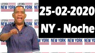 Resultados y Comentarios Nueva York Noche (Loteria Americana) 25-02-2020 (CON JOSEPH TAVAREZ)