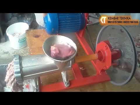 Mesin Giling Daging Mini Baru dan Ekonomis