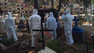 Cementerio municipal de Mixco está a punto de llegar a su capacidad