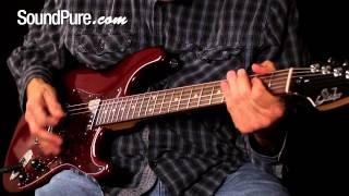 Suhr Classic Black Cherry Metallic 2-Humbuck Electric Guitar Demo