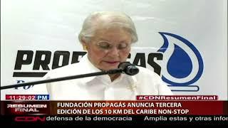 Fundación Propagás anuncia  tercera edición de los 10 KM del Caribe Non-Stop