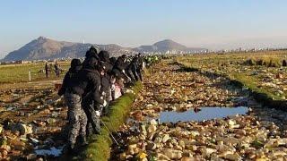 ????Ministro de Medio Ambiente y Agua anuncia limpieza del lago Uru Uru este 8 y 9 de abril