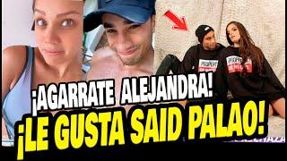 ANDREA SAN MARTIN CONFESÓ QUE LE GUSTA SAID PALAO PERO QUE NO LO CONOCE