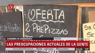 Informe #Noticias10 |  Economía vs Coronavirus