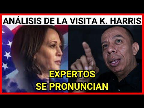 Urgente Guatemala Análisis de la visita de la Vicepresidenta Kamala Harris, expertos se pronuncian