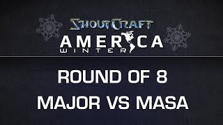 ShoutCraft America Winter - RO8 - MajOr vs. ROOTMasa - BO5