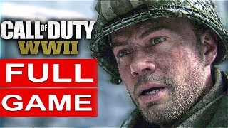 CALL OF DUTY WW2 Gameplay Walkthrough Part 1 Campaign FULL GAME [1080p HD PS4 PRO] - No Commentary