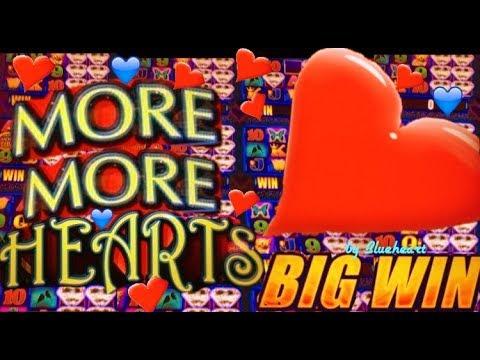 connectYoutube - MORE MORE HEARTS slot machine BONUS WIN and more SLOT VIDEOS!