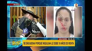 San Isidro: se encadena para exigirle a inquilina que se vaya por 10 años sin pagar alquiler