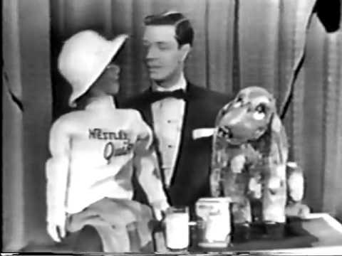 VINTAGE 1956 NESTLE QUIK COMMERCIAL WITH VENTRILOQUIST JIMMY NELSON