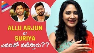 Miya George about Movie with Allu Arjun and Surya