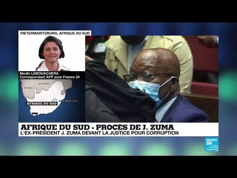 Afrique du Sud : l'ex-président Jacob Zuma sur le banc des accusés