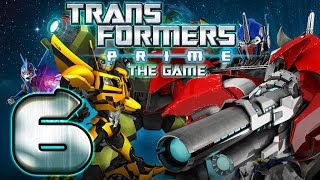 Transformers Prime Walkthrough Part 6 No Commentary (WiiU, Wii) - Bumblebee Mission 6
