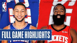 76ERS at ROCKETS | FULL GAME HIGHLIGHTS |  January 3, 2020