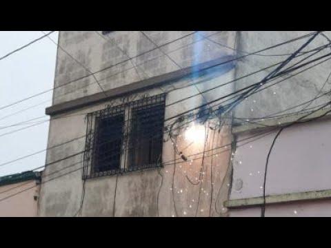 Se registró un conato de incendio en colonia Quinta Samayoa, zona 7