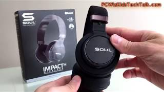 ?Soul Impact OE Wireless High Efficiency Over-Ear Headphones Review