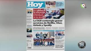 Lectura de principales periódicos nacionales del jueves 16ENE – Hoy Mismo
