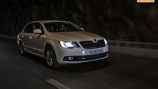 2014 Skoda Superb Drive in India