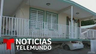 Videos muestran el momento del temblor de magnitud 5.8 en Puerto Rico   Noticias Telemundo