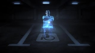 Holograms discourage illegal parking in disabled spaces (Tomorrow Daily 252)